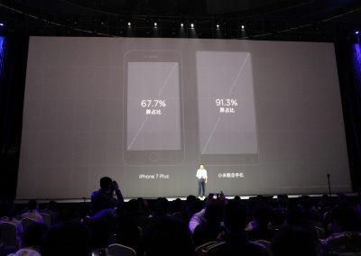 Xiaomi Mix Bezel-less Phone Presentation